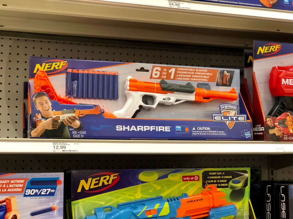 Buy Two Get One Free Nerf Blasters Refills More At Target In Store Online Hip2save