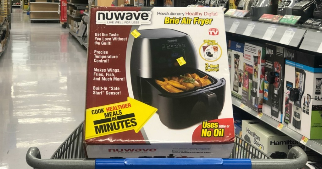 nuwave brio air fryer oven in cart