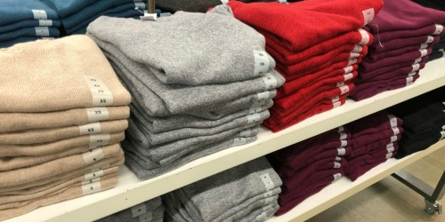 Old Navy Sweaters Only $8 AND Microfleece Accessories Just $1 (In-Store & Today Only)