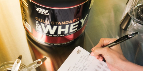 Amazon: Optimum Nutrition 100% Whey Protein Powder 10LB Bag Only $48.74 Shipped (Regularly $89)