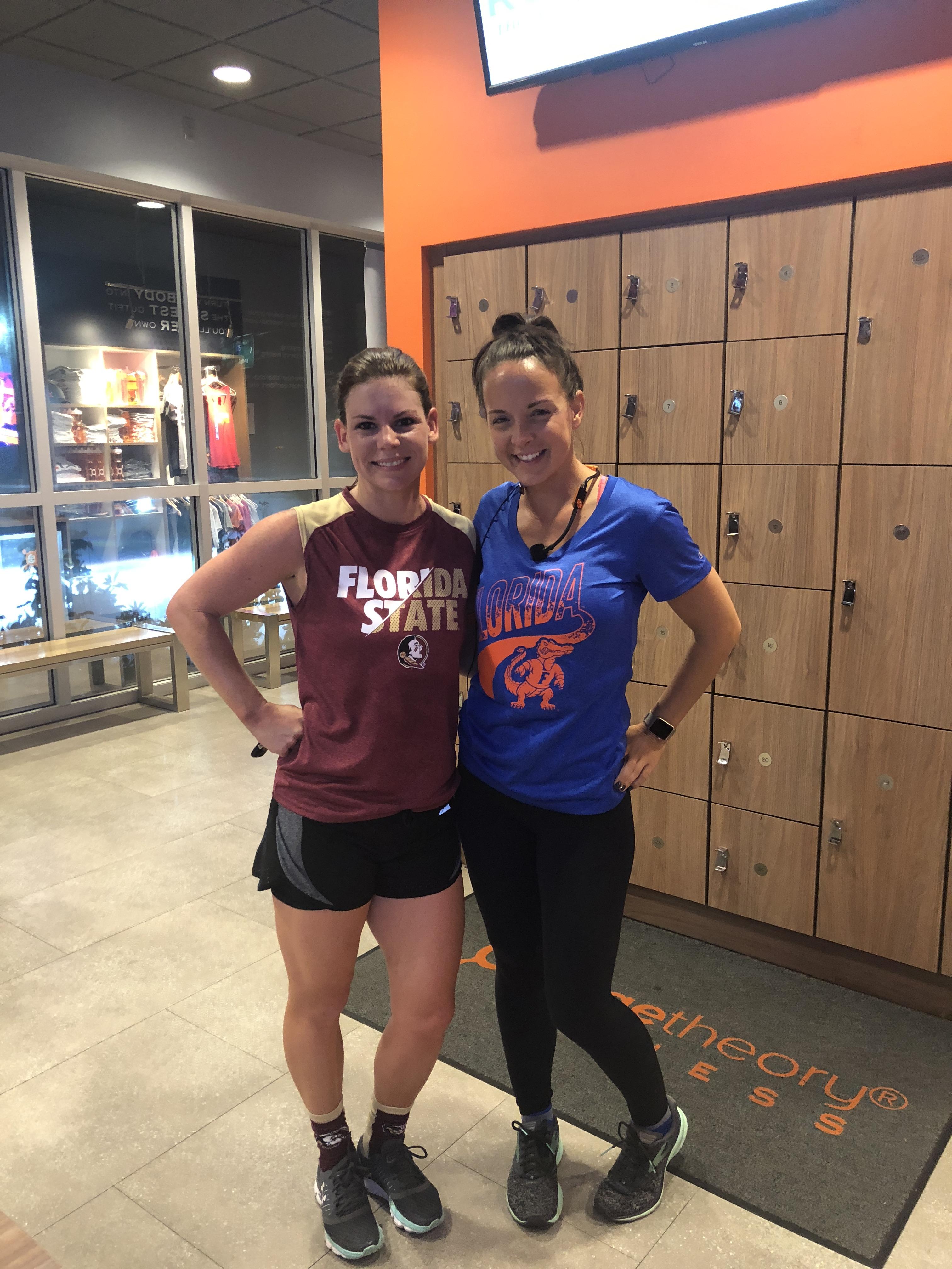 orangetheory fitness review – Erica in the locker room