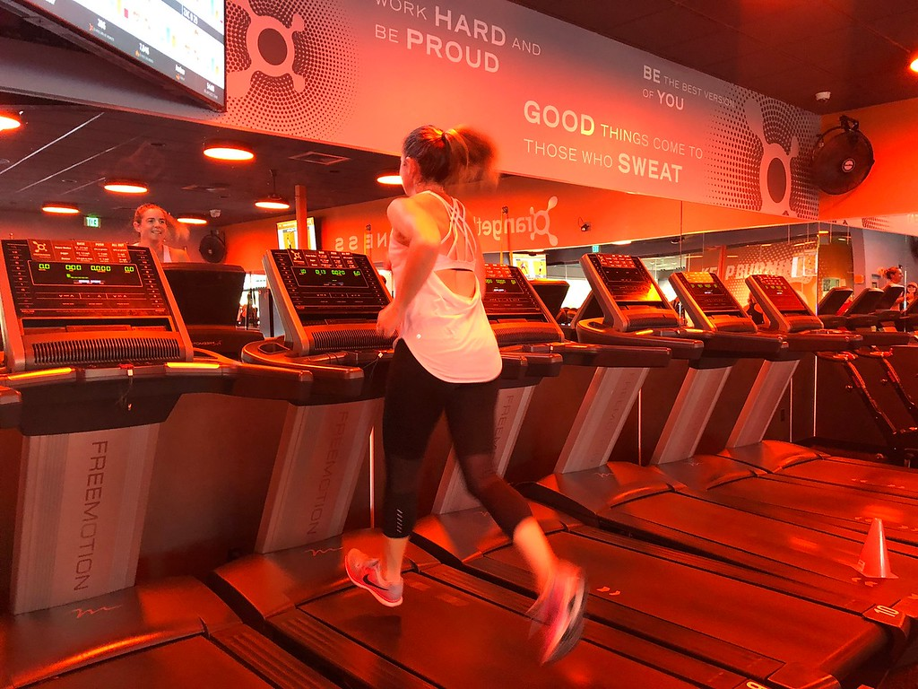 Orange Theory Treadmill