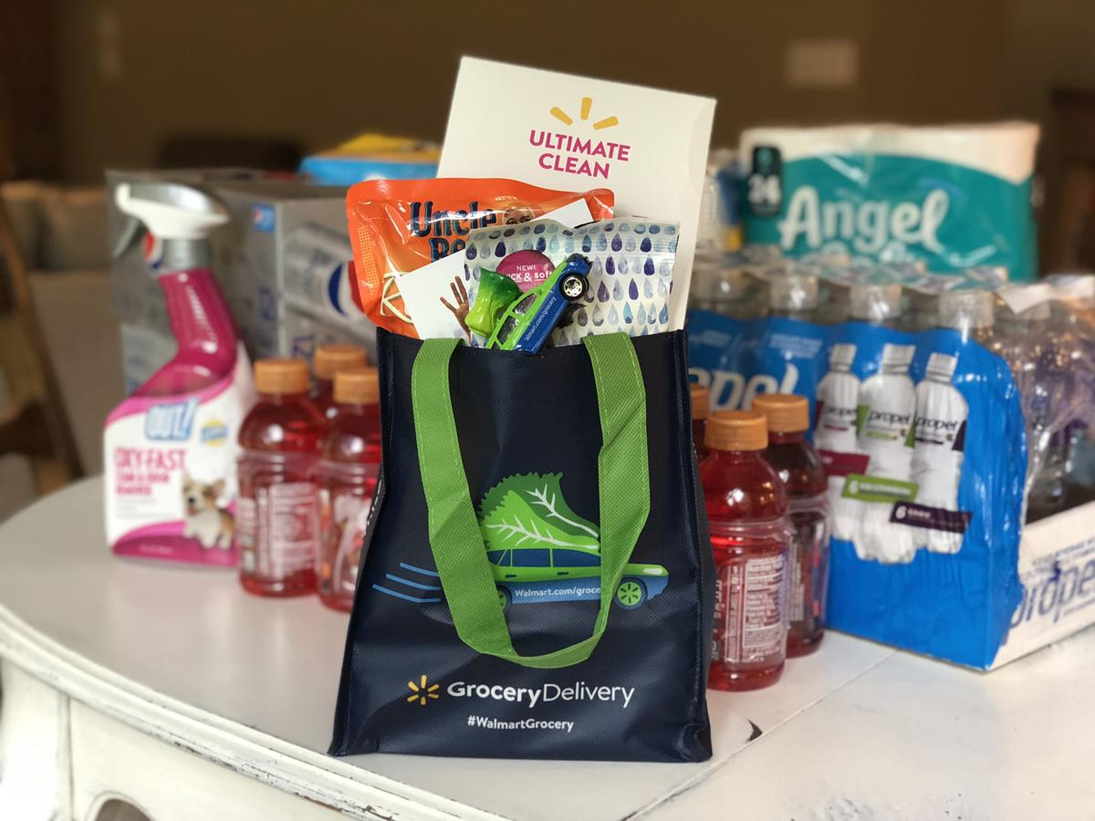 Order with Walmart Grocery Delivery and get freebies