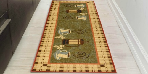 Kitchen Runner Rugs as Low as $9.50
