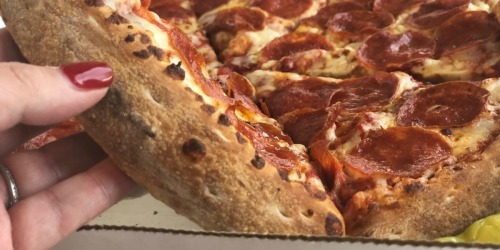 THREE Papa John's Pizzas, Cheesesticks AND Cookie Only $19.99