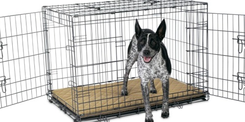 $30 Off $100+ Petco Purchase + Free Shipping = Great Deals Dog Crates, Pet Beds & More