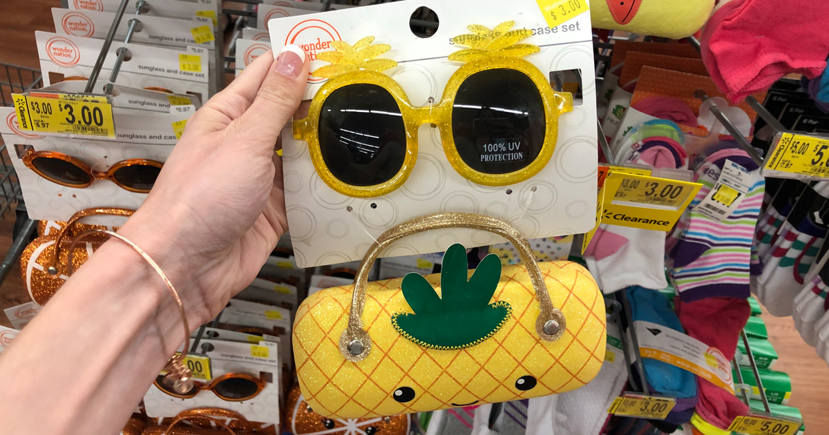 39a579788d Character Sunglasses w  Case Only  3 at Walmart - Hip2Save