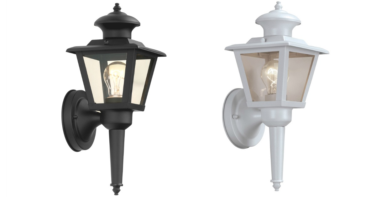 Portfolio Outdoor Wall Light Only 7 49 At Lowe S Regularly