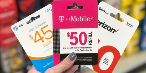 $5 Off Pre-Paid Mobile Phone eCards at Target | Verizon, Boost, AT&T + More