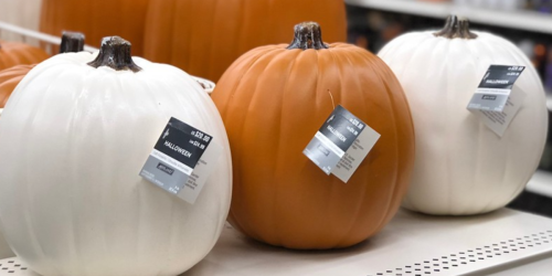 25% Off Entire Michaels Purchase (Including Sale Items) = 60% Off Craft Pumpkins