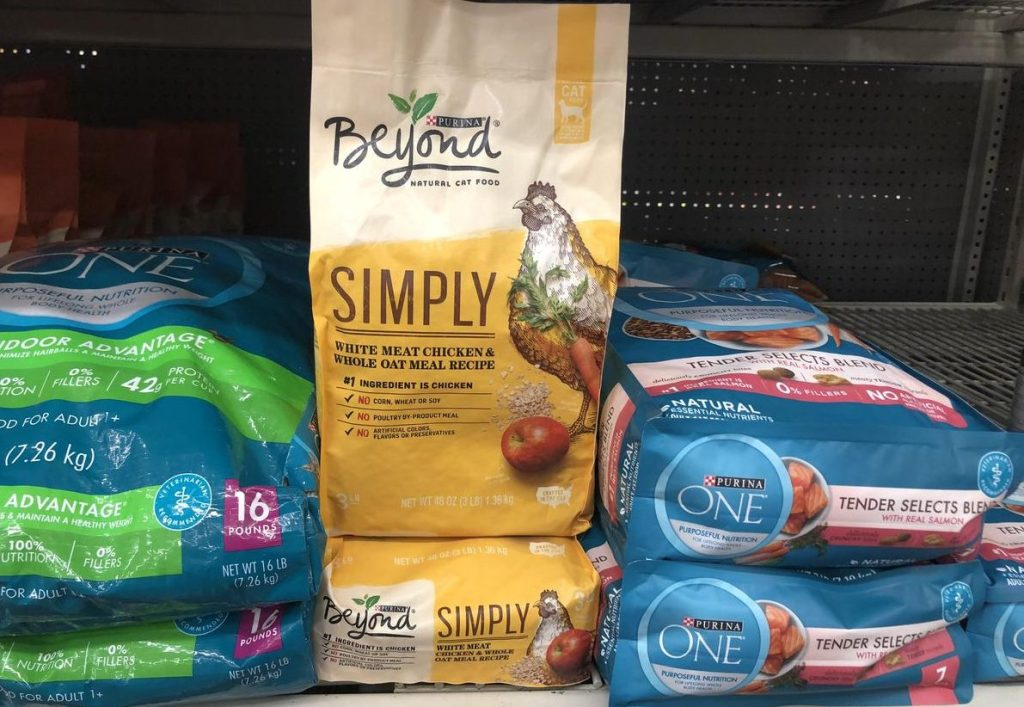 Purina Beyond 3lb bag at Walmart