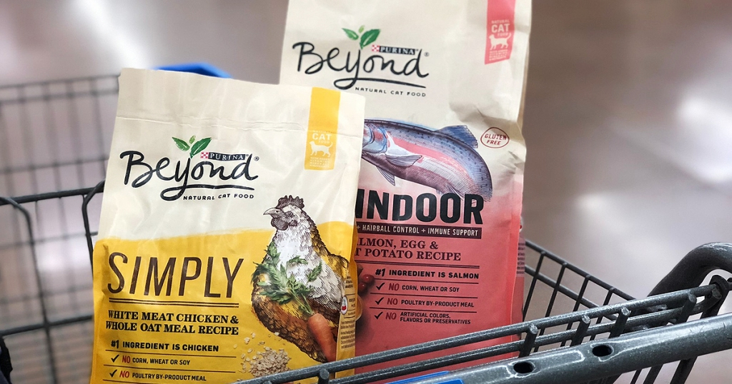 Save On Purina Beyond Cat Food At Walmart W High Value Printable