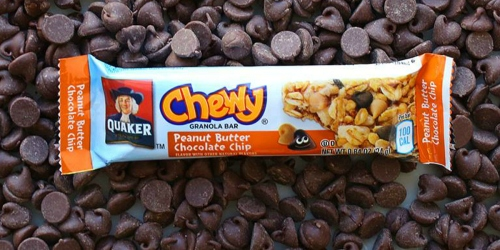Amazon: Quaker Chewy Granola Bars 58-Count as Low as $7.79 Shipped (Just 13¢ Per Bar)