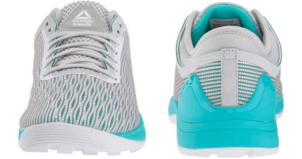 5c8308b9b7f63a Reebok Women s CROSSFIT Nano 8.0 Flexweave Cross Trainer Shoes  88.49  (regularly  130) Available in grey teal only. Minus the 25% off discount…