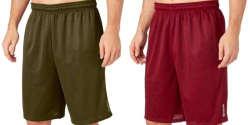Reebok Men's Mesh Shorts as low as $5.98 Per Pair at Dick's Sporting Goods (Regularly $20)