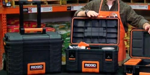 Ridgid Pro Organizer, Tool Box & Cart Only $98 Shipped at Home Depot (Regularly $126)