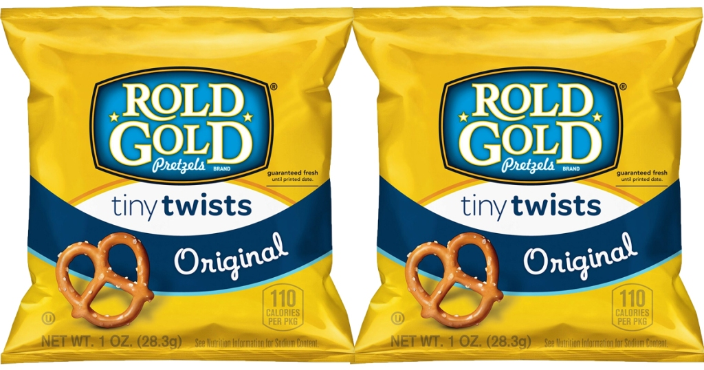 told gold tiny twists bags