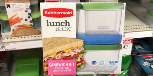 Rubbermaid LunchBlox Sandwich Kit Only $5.88 on Amazon (Regularly $8)
