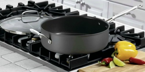 Cuisinart 5.5 qt Saute Pan w/ Lid Only $30.99 Shipped (Regularly $45)