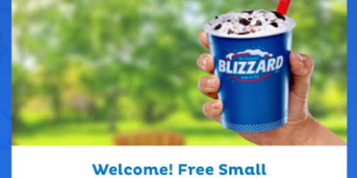 Free Small Blizzard with Dairy Queen App