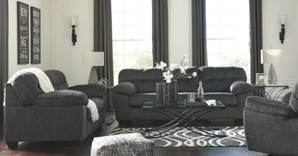 JCPenney: Ashley Signature Sofa AND Loveseat Only $670