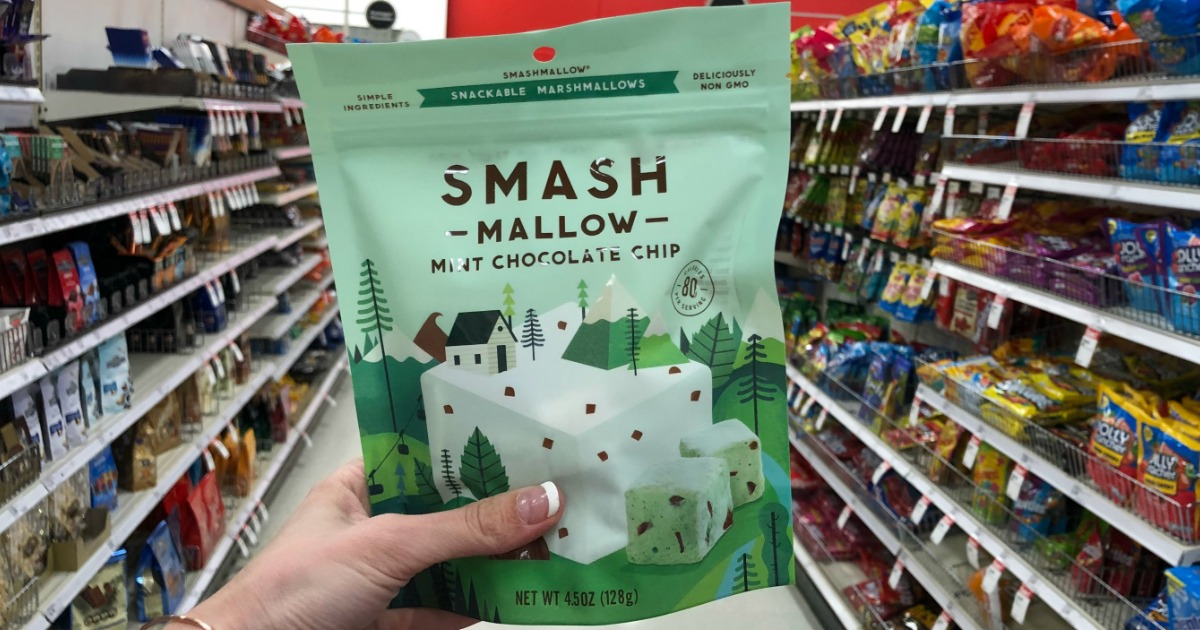 50% Off SMASHMALLOW Snackable Marshmallows After Cash Back at Target