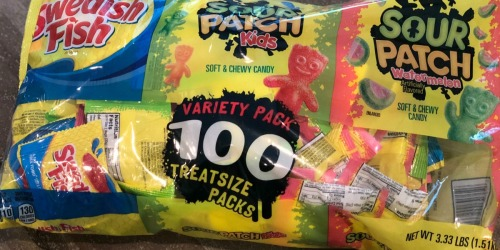 Sour Patch & Swedish Fish Halloween 100-Count Variety Pack Only $9.94 (Just 10¢ Per Treat)
