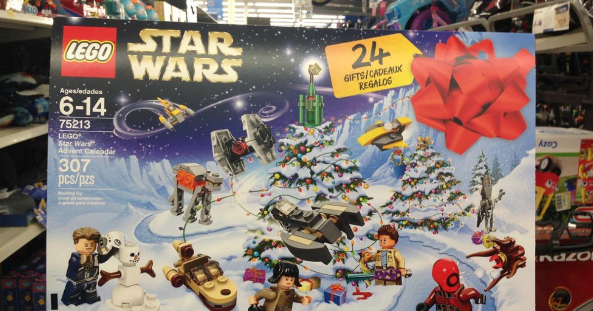 lego star wars advent calendar only on. Black Bedroom Furniture Sets. Home Design Ideas