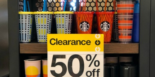 Possibly 50% Off Summer Tumblers at Target Starbucks Cafe