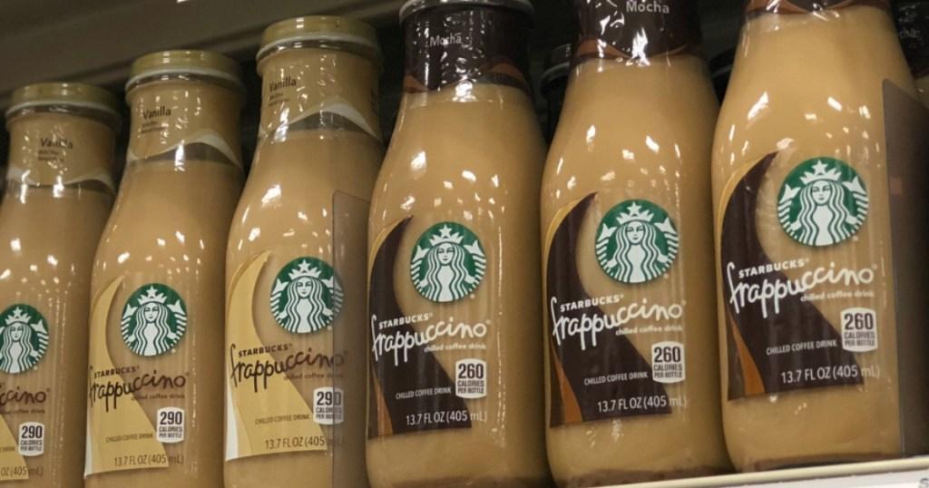 Starbucks Frappuccino bottled drinks