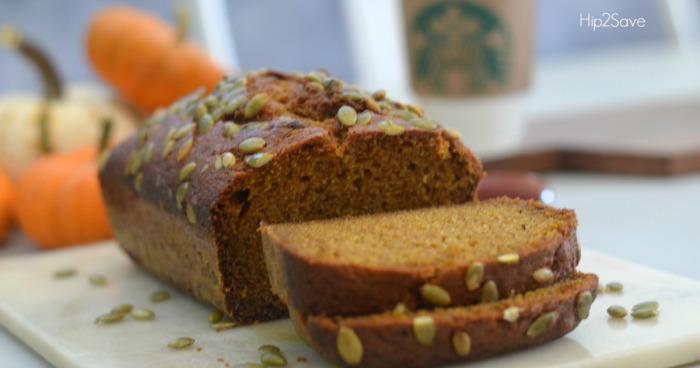 Starbucks pumpkin bread recipe