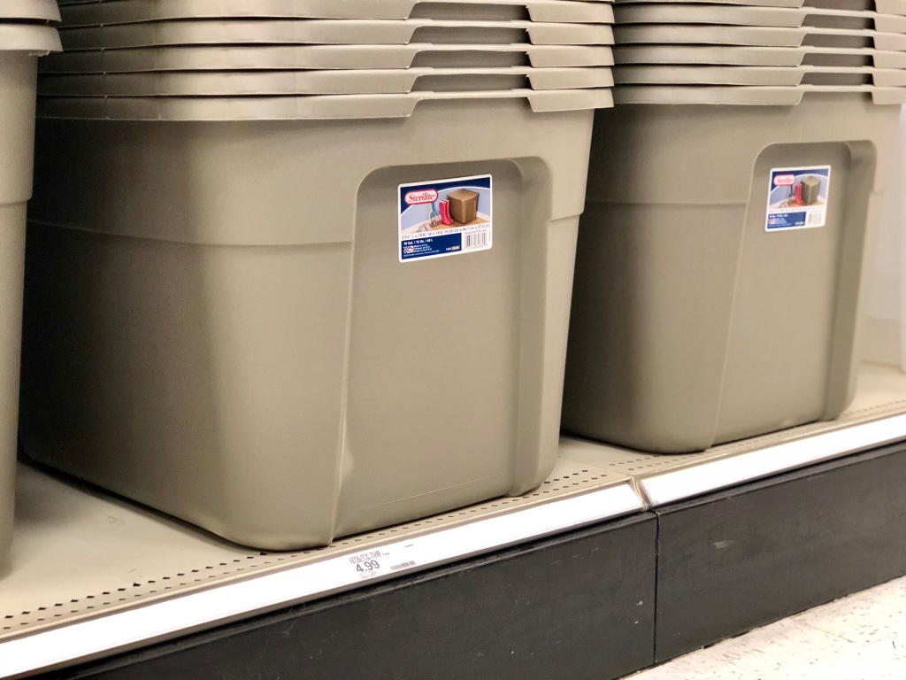 Sterilite Plastic Storage Bins Only 74 162 At Target More