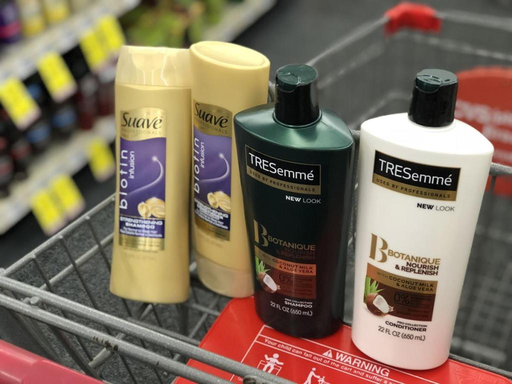Suave and TRESemme at CVS