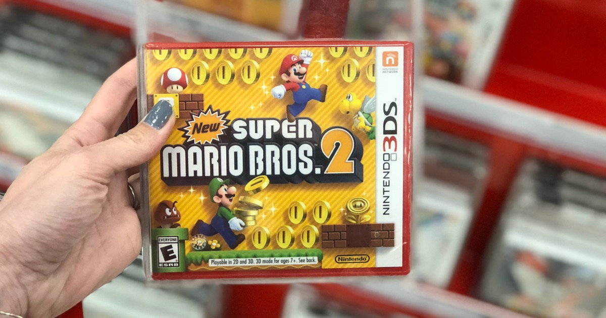 30d516ddff Super Mario Bros. 2 Nintendo 3DS Game Possibly Only $8.98 at Target  (Regularly $30)