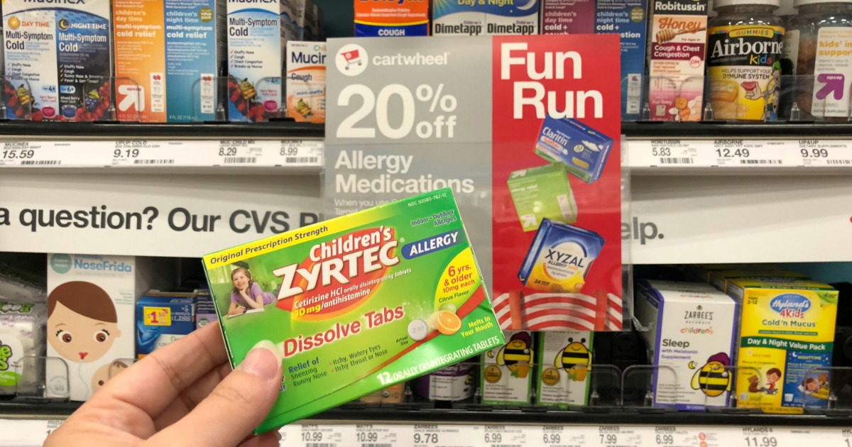 image relating to Zyrtec Printable Coupon $10 titled Up in direction of 60% Off Allergy Drugs at Concentration (Zyrtec