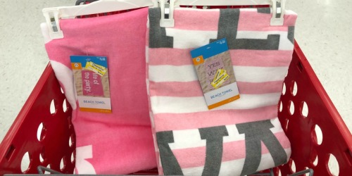 Large Beach Towels Possibly Only $2.98 at Target (Regularly $10)