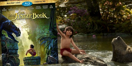 Disney Blu-ray + DVD Movies as Low as $6.99 at Best Buy (The Jungle Book, Cinderella & More)