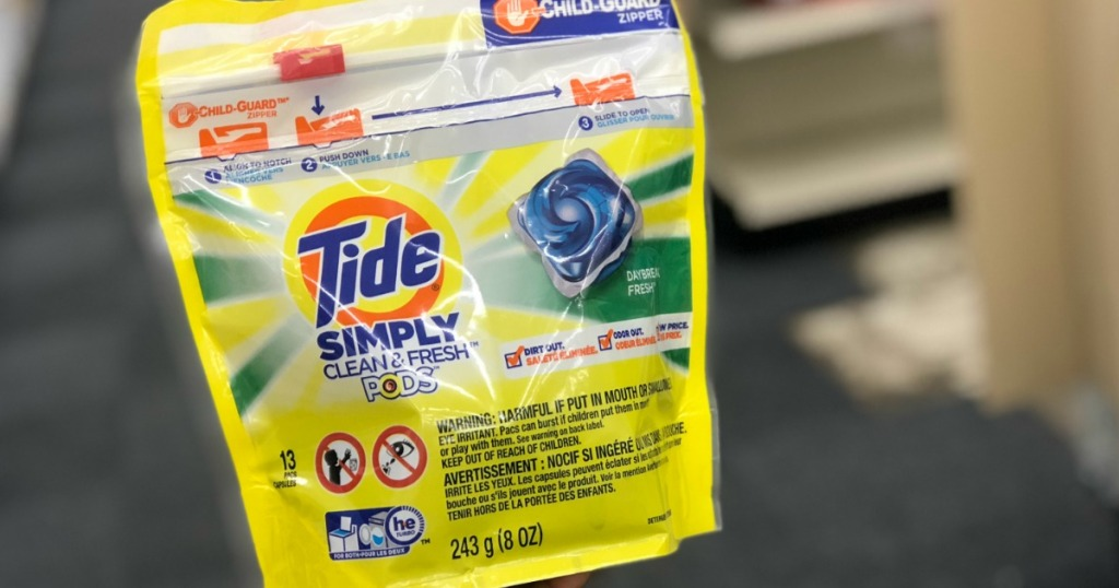 bag of Tide Simply pods