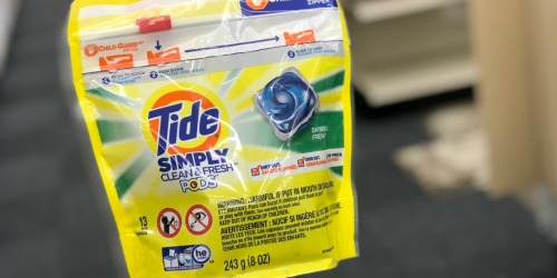 Tide Simply Laundry Detergent & Downy Fabric Softener Just $1.32 Each After Walgreens Rewards