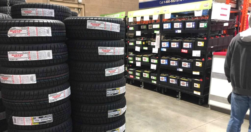 Tire Center at Costco