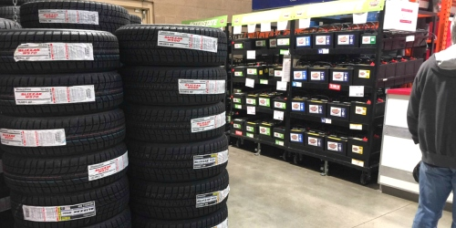 $130 Off Bridgestone Tires AND Installation at Costco (Includes Lifetime Maintenance Services!)