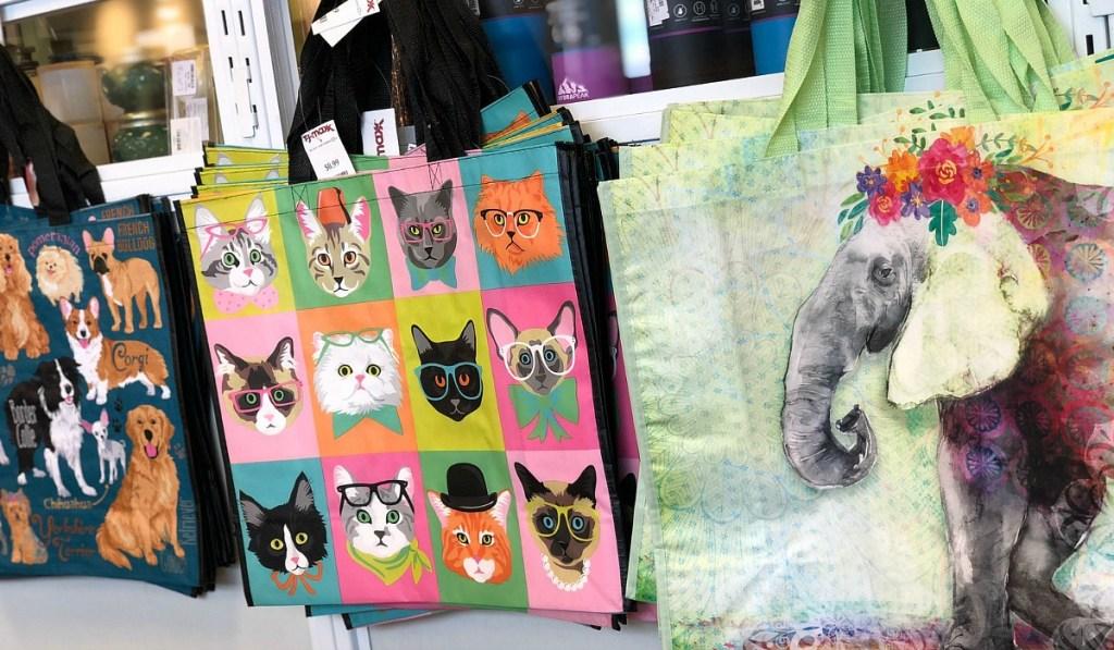 tjmaxx shopping finds — reusable bags from tjmaxx
