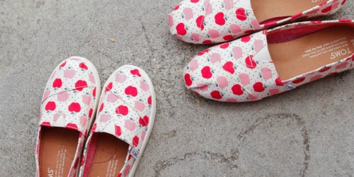 Up to 65% Off TOMS Shoes for The Family