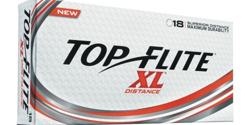 Top Flite XL Distance Golf Balls 18-Packs as Low as Only $4.69 Each at Dick's Sporting Goods