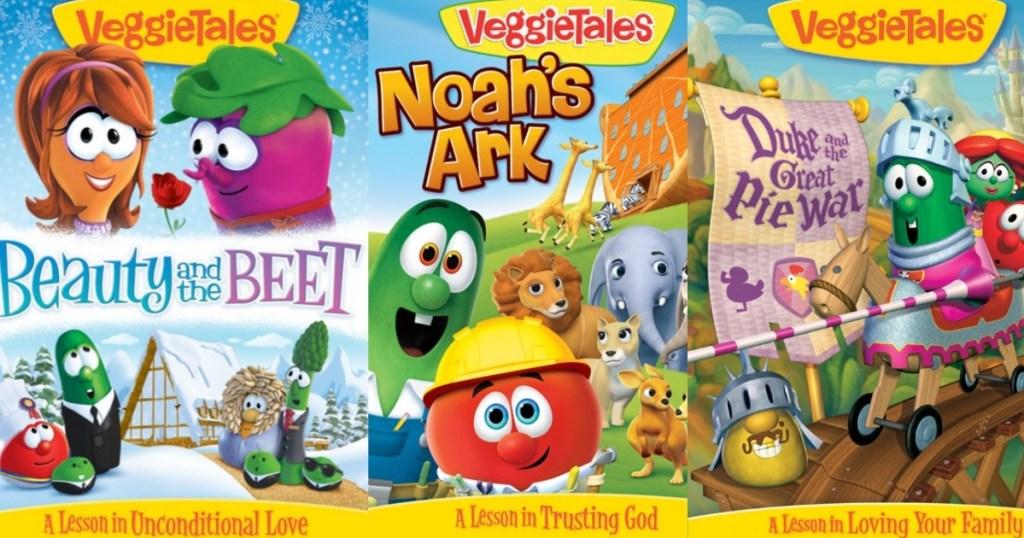 VeggieTales DVDs