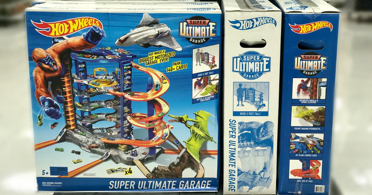 walmart black friday 2018 store changes include an expanded assortment of toys like this Hot Wheels Ultimate Garage