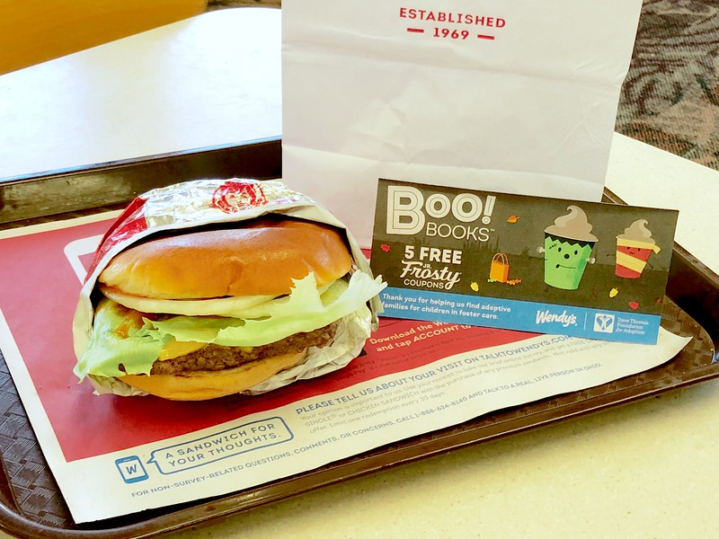 Wendy's $1 Halloween Books Available (Include 5 FREE Jr