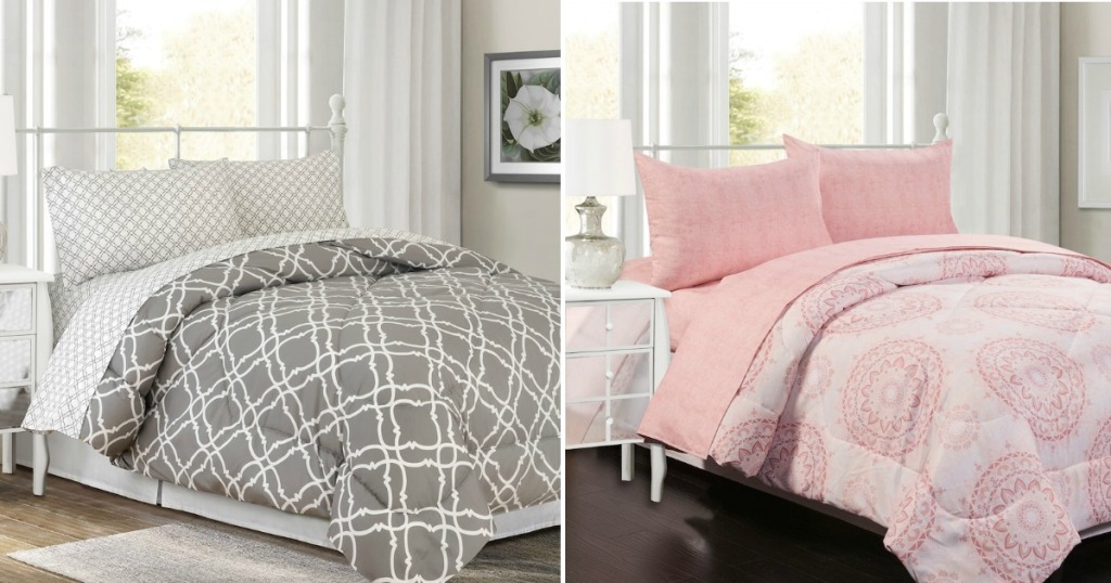 Comforter Sets As Low As 15 29 At Kohl S: Kohl's Bed In A Bag Sets As Low As $25.49 (Regularly $100
