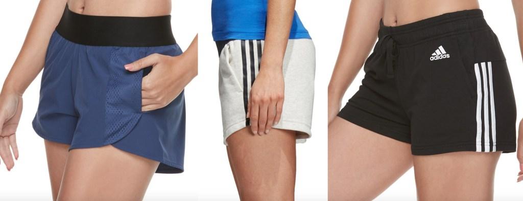 women's adidas running shorts