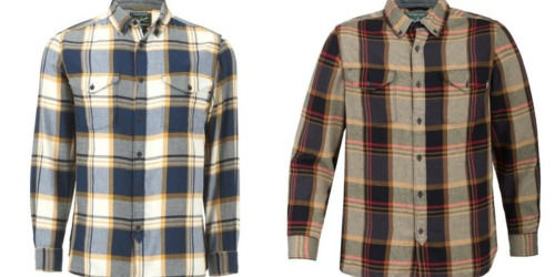 Woolrich Men's Flannel Shirt Only $9.98 (Regularly $59) + More